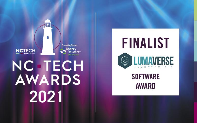 Lumaverse Technologies Named NC TECH Awards Finalist